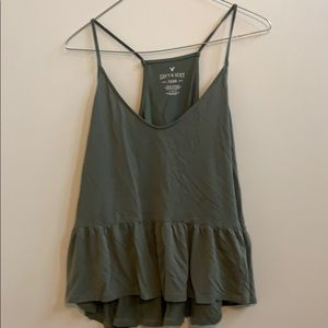 Soft and sexy high low tank American eagle